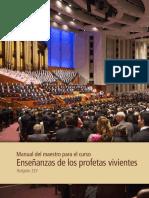 Enseñanzas de los profetas vivientes LDS
