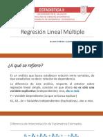 Regresión Lineal Multiple
