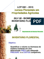 inventario florestal
