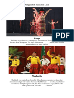 Philippine Folk Dances From Luzon