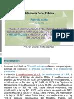 1 Ley Agenda Corta. Aspectos Penales Mauricio Rettig (1)