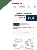 dp level transmisor