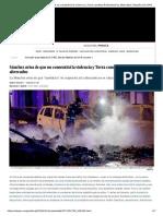 Sánchez Avisa de Que No Consentirá La Violencia y Torra Condena Finalmente Los Altercados _ España _ EL PAÍS