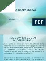 CUOTAS MODERADORAS