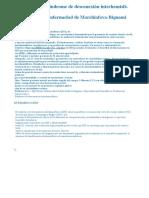 descripción del síndrome de desconexión hemisferica