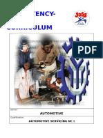 CBC - Automotive Servicing NC I- January 2019