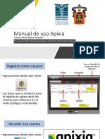 Manual de uso Apixia