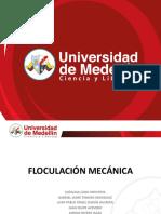 Floculación Mecánica (Presentacion)