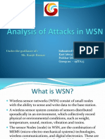 Analysis Attacks WSN