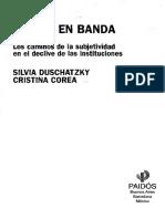 Silvia Duschatzky - Chicos en Banda