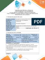 Guía de Actividades y Rúbrica de Evaluación - Fase 3 - Realizar Un Ensayo Donde Se Analicen Las Teorias de La Administración de La Unidad 2