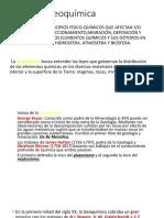 Geoquímica II