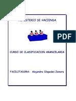 Curso de Clasificación Arancelaria-MH