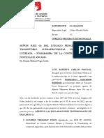 Ofrezco Pruebas Testimoniales - Francisco Salvador Rondan