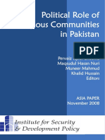 2008 Cheema Et Al Eds Political Role of Religious Communities in Pakistan