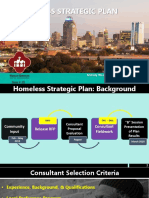 Homeless Strategic Plan Consultant