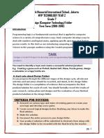Grade 7 Design Folder Criteria A