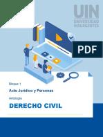 Bloque 1 Derecho Civil