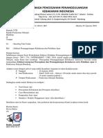 Surat Pemberitahuan Pelaksanaan Edukasi Penanggulangan Kebakaran PKM Sekejati