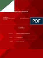 Ansible Network Automation - Santa Clara - Slides