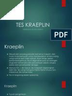Tes Kraeplin
