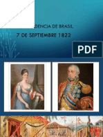 Independencia de Brasil1822