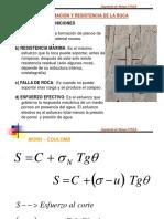 Mecanica de Rocas- Deformacion y Resistencia de La Roca- Unsa