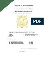 Informe de Laboratorio de Investigación Operativa II