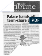 Daily Tribune, Oct. 17, 2019, Palace hands off term-share deal.pdf