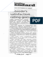 Manila Standard, Oct. 17, 2019, Roberdo's satisfaction rating goes up.pdf