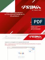 Software Prima 40 pulgadas