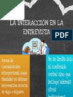 Presentación La Interaccion en La Entrevista