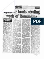 Peoples Tonight, Oct. 17, 2019, Speaker lauds sterling work of Romualdez.pdf