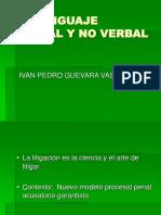 2019.04.23 S1 - Taller Audiencias Previas y Litigación Oral - EL LENGUAJE VERBAL Y NO VERBAL(1)