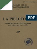 Pielotomia Libro