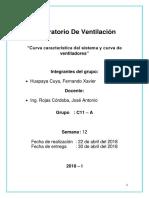Laboratorio de Ventilación Informe 2