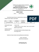 Surat Tugas SPPD