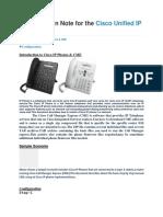 Cisco Unified IP Phone 6921