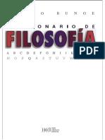 Bunge, M. Diccionario de Filosofia.1
