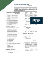 Examen Trigonometria 5