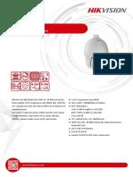 Datasheet of DS 2DE7232IW AE(B)