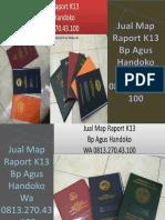 WA 0813.270.43.100, Jual Harga Map Raport K13 di Teluk Dalam Sumatra Utara