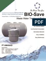Brosur Bio-save Tank -Pt Amanaid