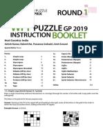 2019 PuzzleRound1 IB