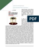 Los 12 Apóstoles de La Economía Peruana