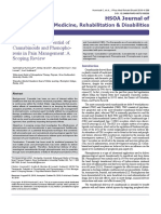 The Therapeutic Potential of Cannabinoids and Phonophoresis in Pain Management