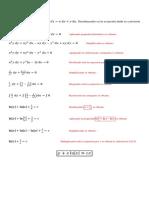 Ecuación Diferencial Homogenea