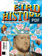 All About History Book of Weird History 4th ED - 2019 UK