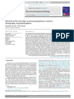 Selection in Two Sex Stage Structured Populations Ge 2019 Theoretical Popul