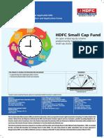 HDFC Small Cap Fund KIM June 2018